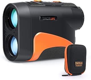 TACKLIFE Golf Rangefinder with Slope/Pin/Range/Scanning Model, Laser Range Finder 6X with Wrist Strap, Carrying Bag for Golf Training, Competition, Hunting - MLR04