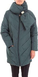 ELISABETTA FRANCHI Women's PI13G96E2568 Green Polyester Down Jacket