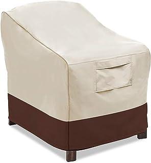 LJWLZFVT Utomhus uteplats möbler lounge stol/lub stolsöverdrag, hållbara och vattentäta skydd för utomhusmöbler enkel soff...
