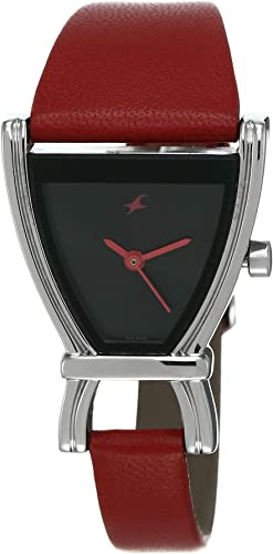 Fastrack Fits Forms Analog Black Dial Women S Watch NM6095SL03 NL6095SL03
