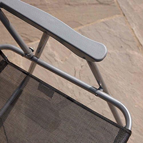 8 Piece Garden Furniture Patio Set inc. 6 x Chairs, Table and Parasol Garden Furniture & Accessories Garden & Outdoors