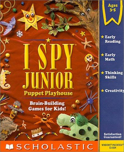 I Spy Junior Puppet Playhouse (Jewel Case)