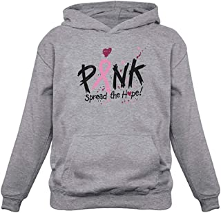 Tstars Pink Breast Cancer Awareness Spread The Hope Women's Hoodie