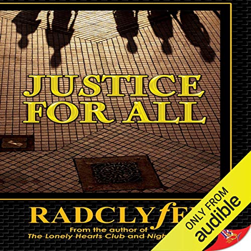 Justice for All audiobook cover art