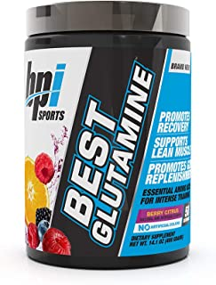 Best Glutamine Essential Amino Acid For Intense Training, Berry Citrus, 14.1 Ounce
