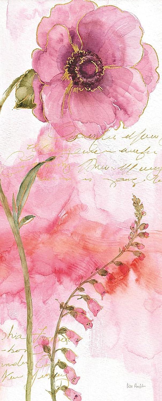 DìMò ART Bild Druck auf Leinwand mit Rahmen in Holz Lisa Audit Rainbow Seeds Absract Floral II 125x50 cm 125x50 cm B07DYRHKTS | Einzigartig