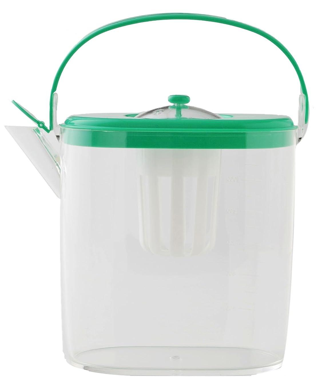 解き明かす高層ビルガスアーネスト 冷水筒 ピッチャー らくっ茶 1.3L A-76809
