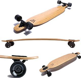 Magneto Longboards de bambú para crucero, tallado, estilo