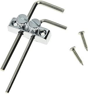 KAISH Guitar Bass Allen Key Headstock Wrench Holder for Floyd Rose Tremolo Chrome
