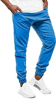 Trousers for Men 2019 Winter Elastic Waist Fashion Print Slim Sportwear Casual Long Pants Stretch Warm Sweatpants 6XL