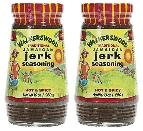 Walkerswood Traditional Jamaican Jerk Seasoning, 10 oz (Pack of 2)