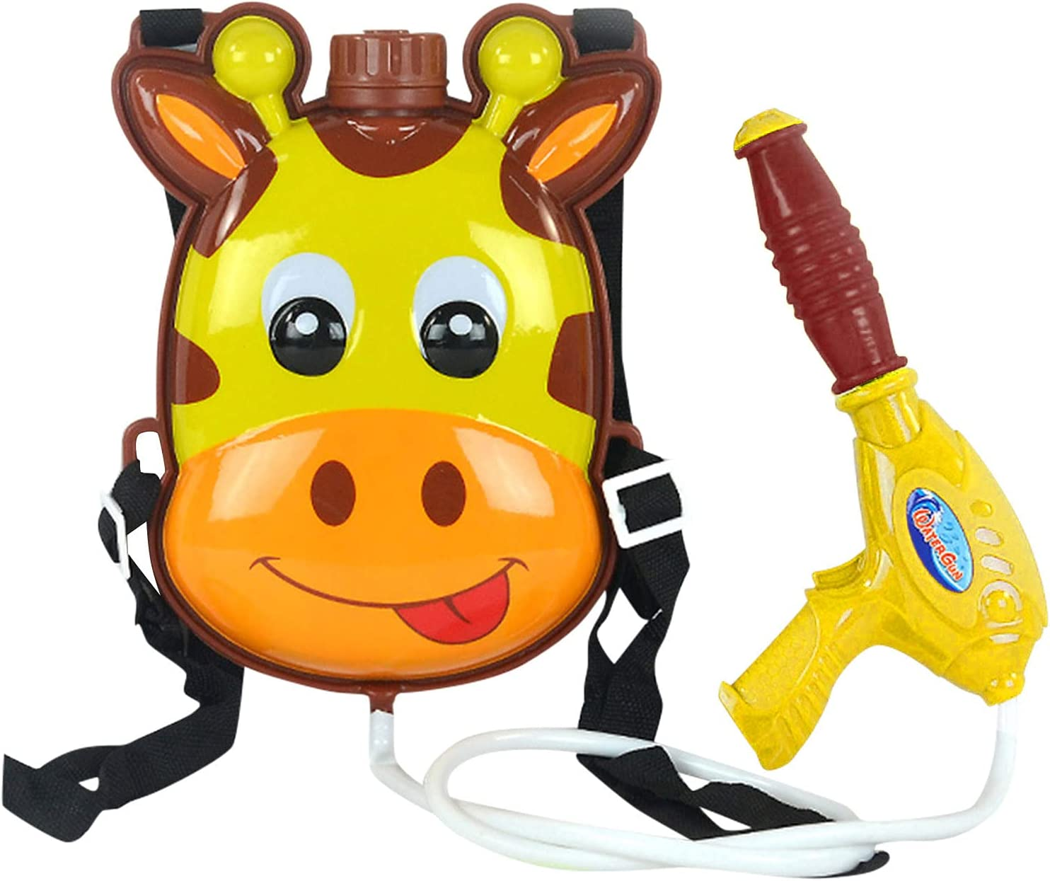 ZHIFENGMAOYI Pull Max 72% OFF Department store Backpack Water Blaster for Shooter- Kids-Water