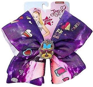 0db564ac78c Jojo Siwa Bows For Girls Large Angel Paris BowBow Dog Butterfly Styles ( Purple Dog)