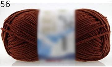 Ovillo de lana para tejer a mano, 50 g, 56, the size, 1