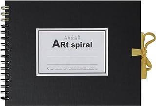 ART SPIRAL F0 Sketchbook, Black