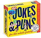 294 Bad Jokes & 71 Punderful Puns Page-A-Day Calendar 2017 by Workman Publishing (2016-07-19)