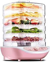ZHJBD LEIJINGZI Deshydrateur Machine, Un sèche-Alimentaire avec 5 Plateaux empilables, for la Viande, Les Fruits, Les légu...