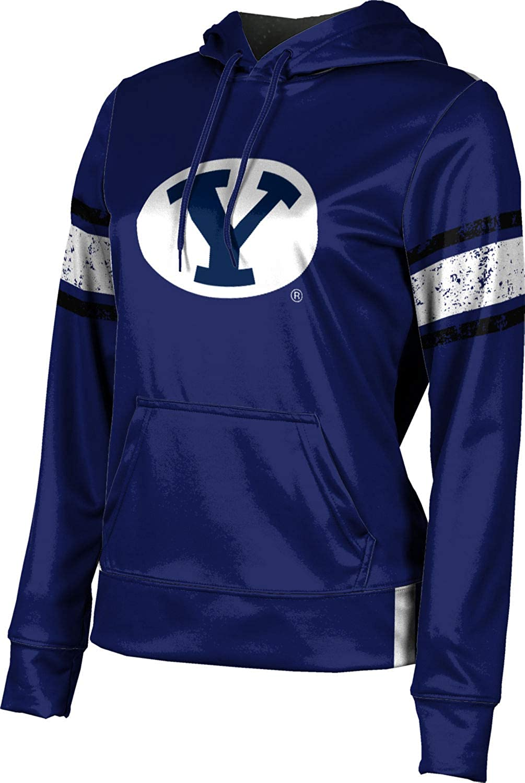 Brigham Young University Girls' Pullover Hoodie, School Spirit Sweatshirt (End Zone)