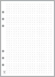 A5 Size Dot Grid Paper Refill (0.25