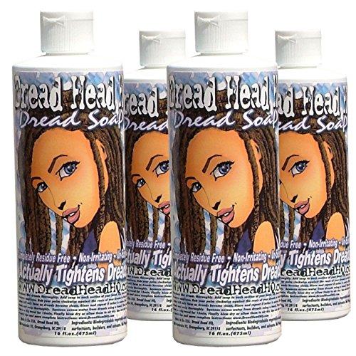 4 Dreadlocks Soap Combo for Dreads Shampoo By Dreadheadhq