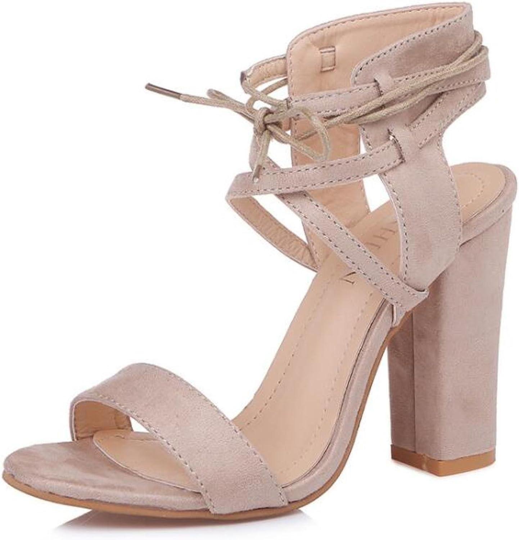 shoes women Chunky High Heels Summer shoes Women Sandals Pumps Ladies