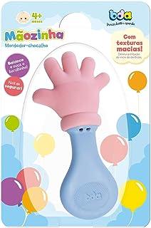 Toyster Mordedor Infantil Maozinha com Chocalho, Multicor