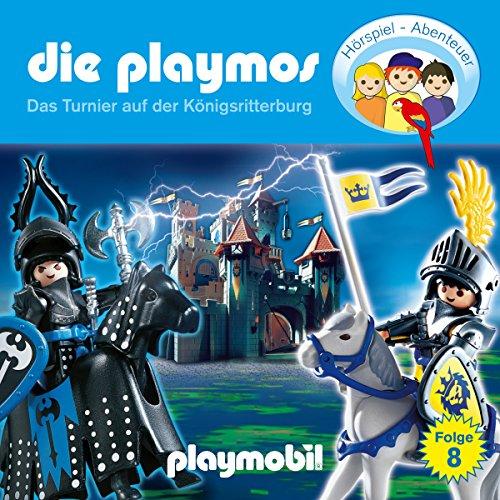Das Turnier auf der Königsritterburg (Die Playmos 8) Titelbild