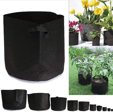 Gallon Grow Bags, 20 Litres/5 Gallons Plant Pots With Handles/Garden Plant