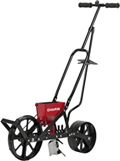 Chapin 8701B Garden Push Seeder with 6 Seed Plates for Up to 20 Varieties of Seeds, (1 Garden Seeder/Package)