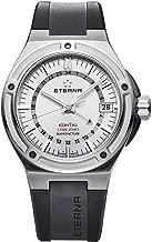 Eterna Gents-Wristwatch Royal KonTiki Date GMT Analog Automatic 7740.40.11.1289