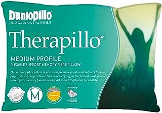Therapillo Medium Flexible Support Premium Memory Fibre Pillow by Dunlopillo