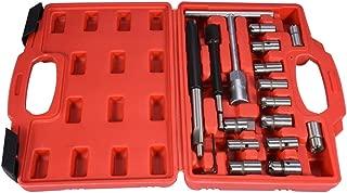 10 Piezas Set de Escariador para Asiento de Inyector Juego de Herramientas para Asiento de Inyector Di/ésel