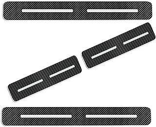 Einstiegsleiste Schutz Aufkleber Reflektierende Lackschutzfolie f/ür Leaf NV200 Combi Micra Note Pulsar Juke Qashqai X-Trail Navara 370Z GT-R Einstiegsleisten Rot 4 St/ück