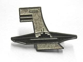 German U-Boat 6th Flotilla cap hat Badge Kriegsmarine WW2 Flottille U-Boot WK.2 AGED