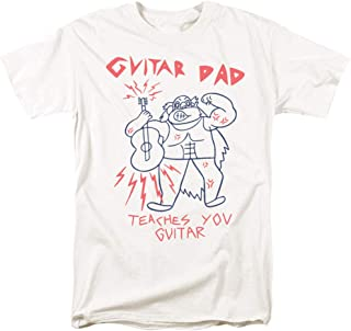 Steven Universe Guitar Dad Cartoon Network T Shirt & Stickers