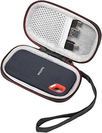 RETT® - Custodia rigida per SSD portatili SanDisk da 250 GB / 500 GB / 1 TB / 2 TB Extreme SDSSDE60, custodia antiurto impermeabile per SanDisk da 250 GB / 500 GB / 1 TB / 2 TB - Trova i prezzi più bassi