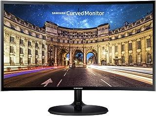 "Samsung 27"" Curved Full HD LED Monitor, Black, LC27F390FHEXXY"