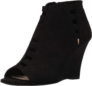 [ナインウエスト] Womens Floating Fabric Open Toe Ankle Fashion Boots [並行輸入品]
