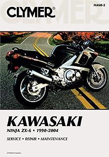 Manual de serviço Clymer para 03-04 Kawasaki ZZR600