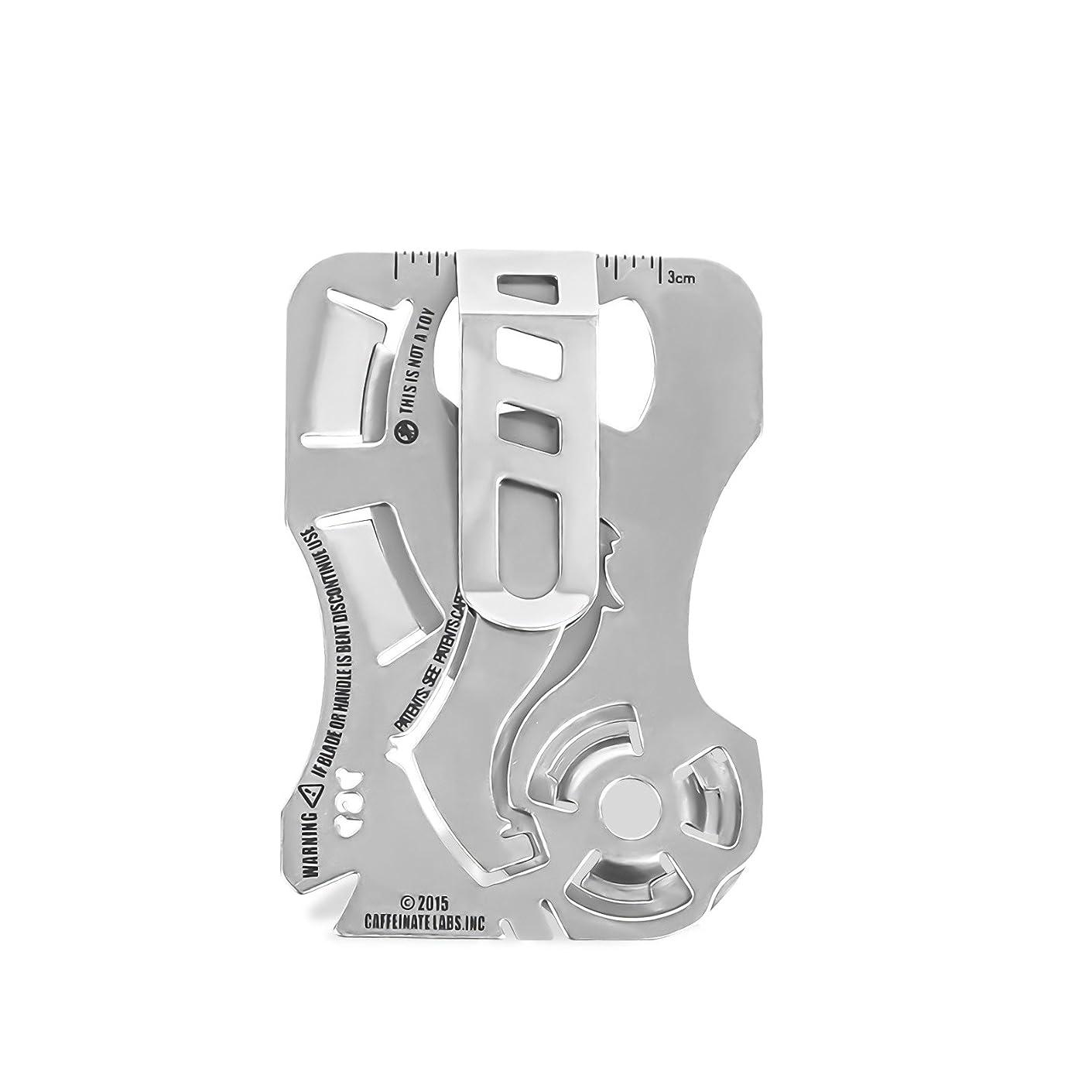 気難しい美的バイバイアウトドアサバイバル多目的EDCツールクレジットカードサイズポケットツール
