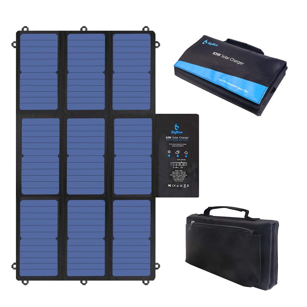 BigBlue Charger Portable SunPower Foldable