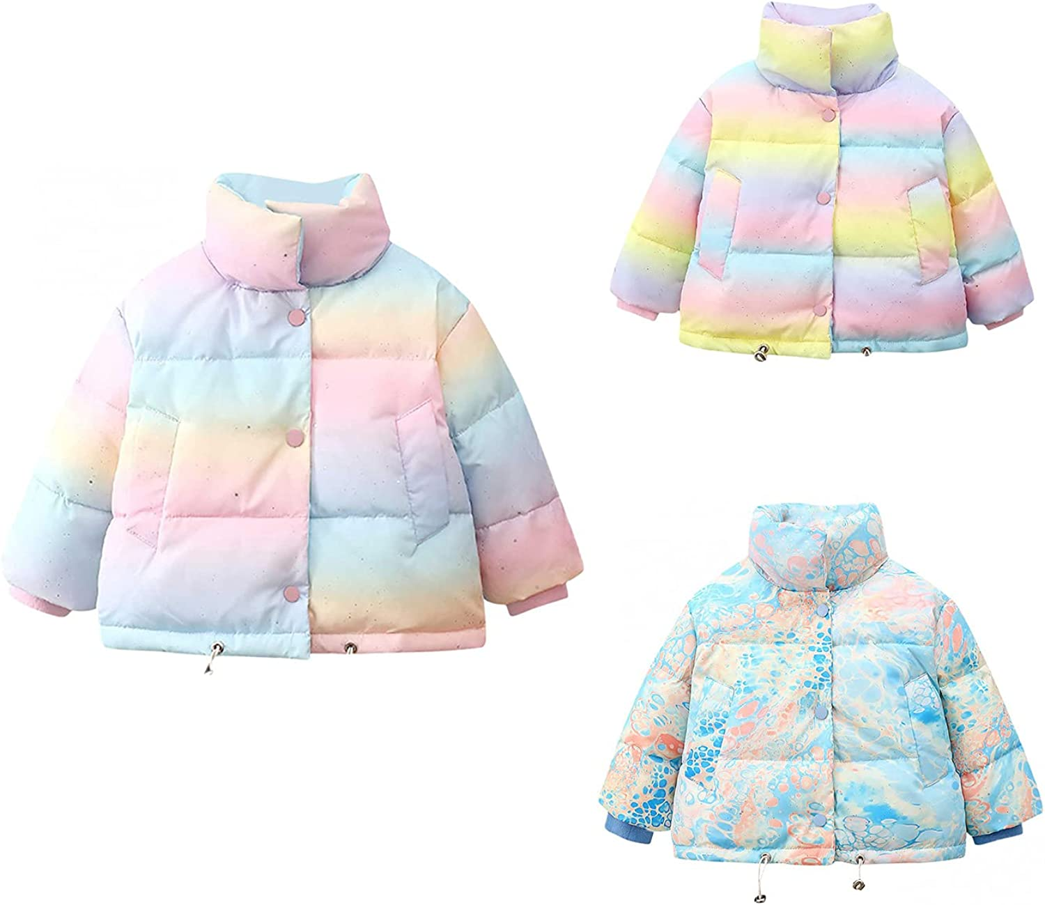 Winter Coats for Toddler Sales Baby Star Sky Down Printing Jacket Hood 2021new shipping free