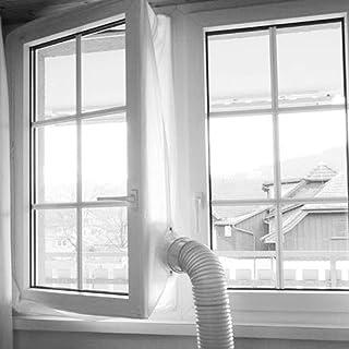 dream-cool Adaptador de Ventana para el Adaptador de Manguera de Aire Acondicionado portátil Adaptador de Escape de 13 cm de diámetro de corredera de Ventana, Interfaz de conducto de Aire Adorable