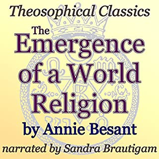 The Emergence of a World Religion cover art