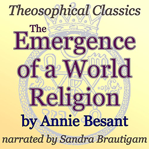 The Emergence of a World Religion audiobook cover art