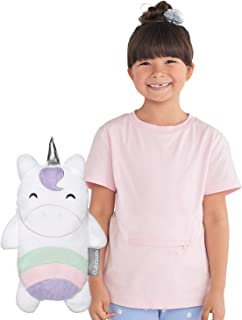 Cubcoats Uki The Unicorn 2-in-1 Transforming Tee T-Shirt & Soft Plushie