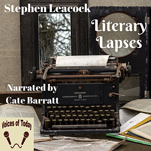 Literary Lapses audiobook cover art