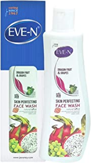 EVE-N Dragon Fruit & Grapes Face Wash 200 ml (Pack OF 100ml*2)
