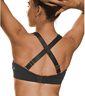 SPRING SEAON YASHIGE Womens Sports Bra Removable Padded Cups Racerback/Front-Zipper Wirefree Sexy Activewear Medium Suppor...