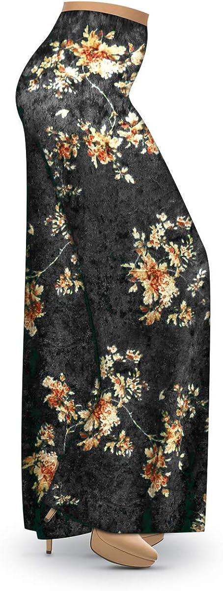 Sanctuarie Designs Crush Velvet Floral Leg Print Max Be super welcome 80% OFF Wide Size Plus
